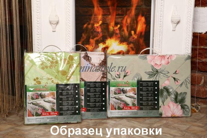 """КПБ Бязь Шуя """"Гжель темная"""" б/з"""