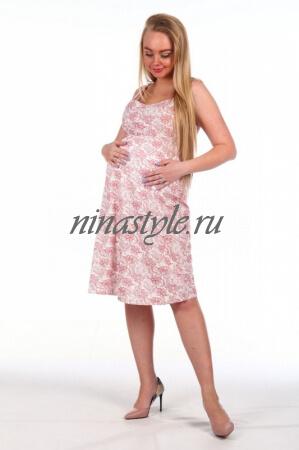 """Ночная сорочка для беременных """"Марина"""""""