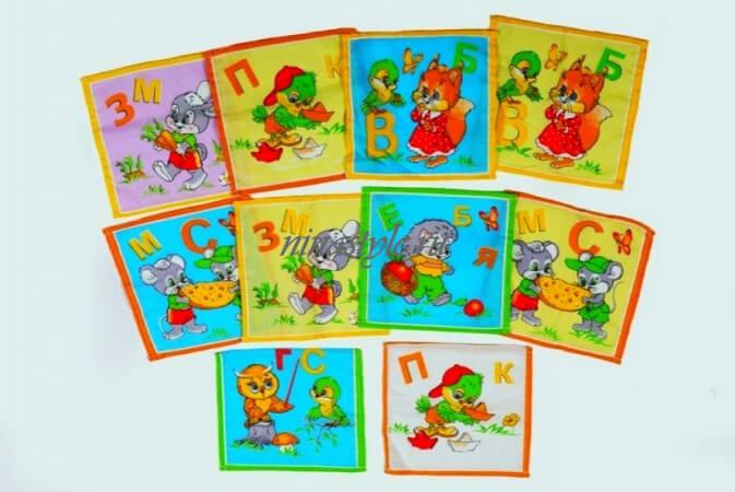 Носовые платки детские ситец Шуя
