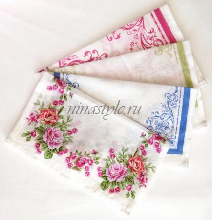 Носовые платки ситец Шуя