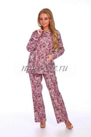 """Пижама фланелевая """"Красотка 2"""""""