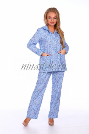 """Пижама фланелевая """"Красотка 1"""""""