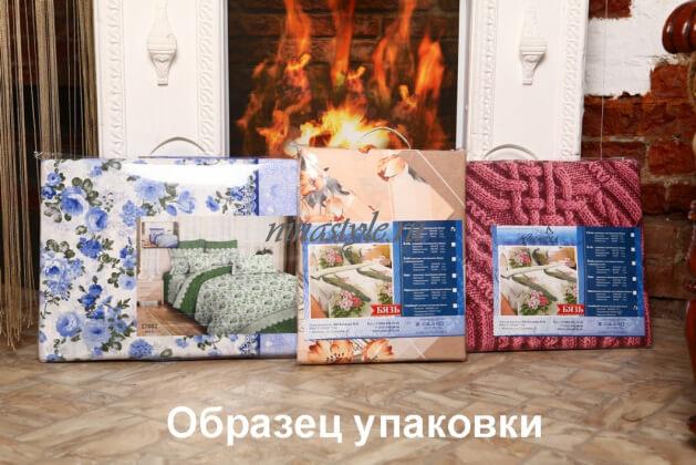 """Постельное белье Бязь Тейково """"17076 1  Виалетто"""" синий"""
