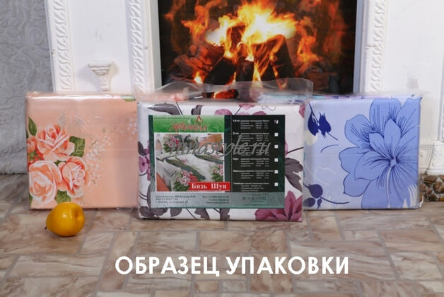 "КПБ Бязь Шуя ""Ветки"" б/з"
